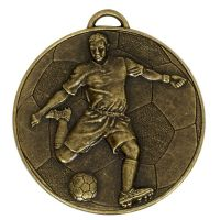 Helix60 Footballer Medal</br>AM931B